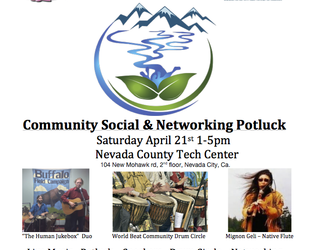 Kimberly will be performing at the Community Social & Networking Potluck – Saturday April 21st 1-5pm